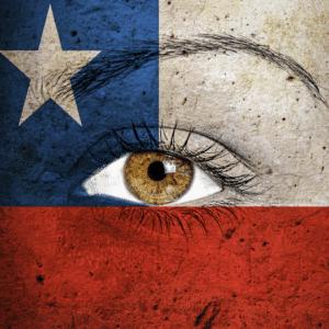 Honeyman drapeau Chili